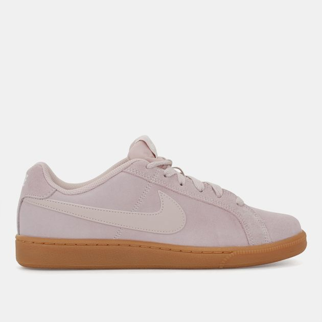 huge discount 02704 57e0c Nike Court Royale Suede Shoe - Pink, 685789