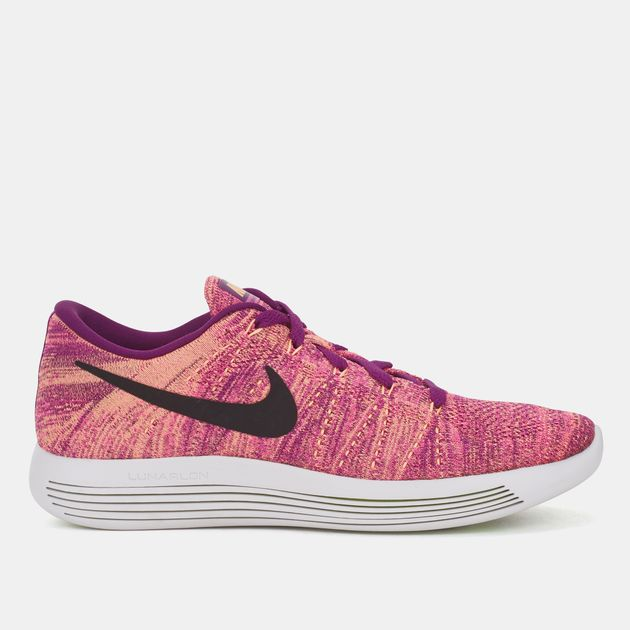separation shoes dc4a9 6b490 Shop Purple Nike Lunarepic Low Flyknit Shoe for Womens by ...