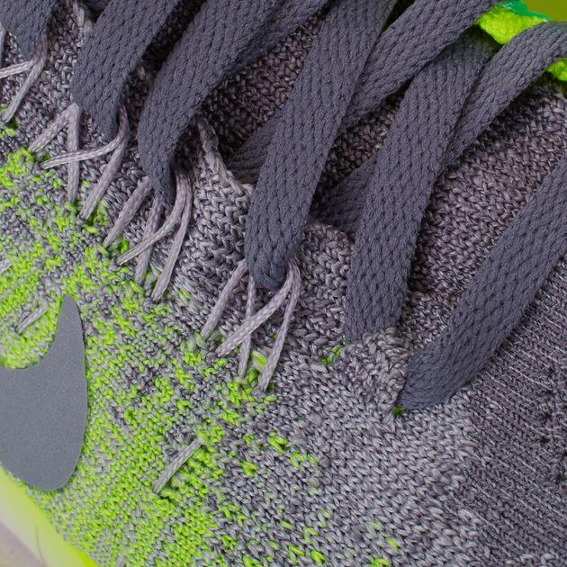 69d18a9f18ab Shop Grey Nike Kids  Free RN Flyknit 2017 Shoe for Kids by Nike