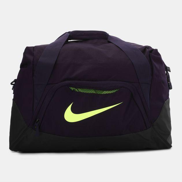 Nike Shield Standard Football Duffel Bag - Purple