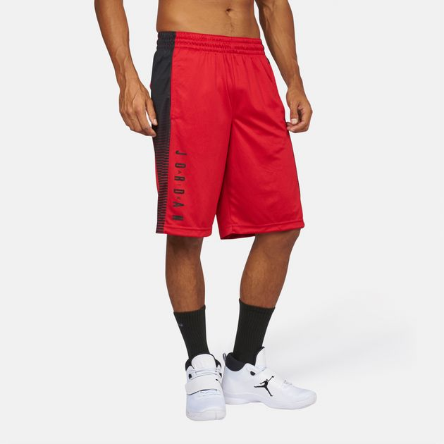 ac7727e38bdf Shop Red Jordan Air Jordan Game Basketball Shorts for Mens by Jordan ...