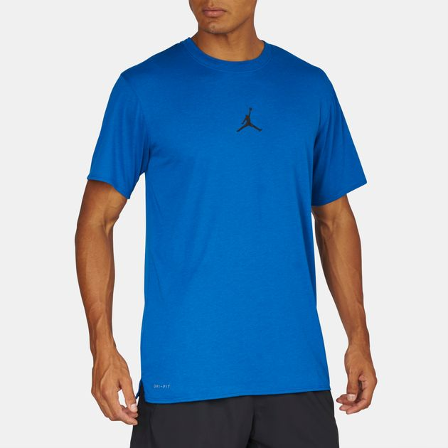 94436aea73e5b2 Shop Blue Jordan 23 Tech Training T-Shirt for Mens by Jordan