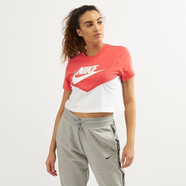 c7398828ad54 Nike Women's Sportswear Heritage Short-Sleeve T-Shirt