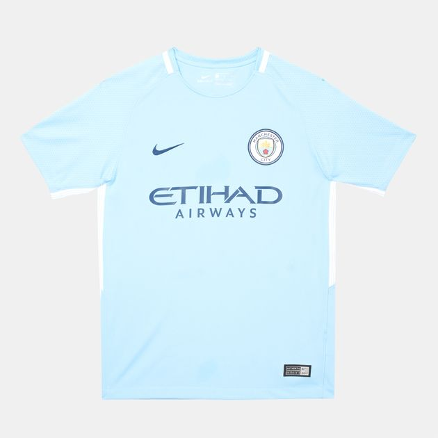 Nike Kids Manchester City Home Jersey - 2017 18  f5df51506
