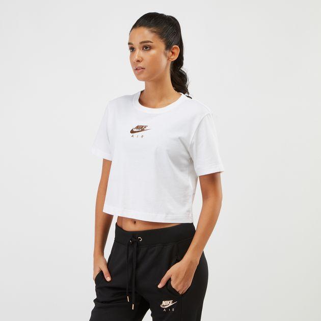 a12959770a5f4 Nike Sportswear Air Crop T-Shirt | T-Shirts | Tops | Clothing ...