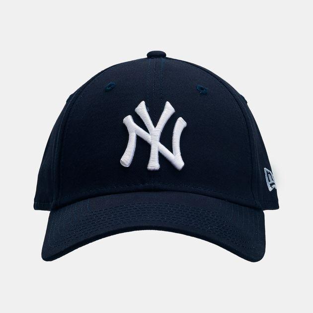 Shop Blue New Era 9 Forty New York Yankees Baseball Cap (Navy Blue ... 62497bf525e