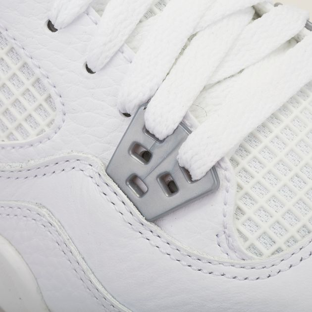 sports shoes 92f7b d145f Shop White Nike Kids' Air Jordan 4 Retro Pure Money Shoe for ...