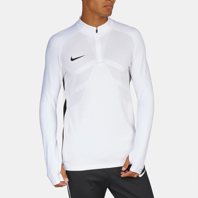 7323cdc6a Nike Strike Aeroswift 1/4 Zip Football Drill Long Sleeve T-Shirt, 657660