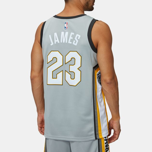 1bea53c27140 Nike NBA Cleveland Cavaliers LeBron James Swingman City Edition Jersey