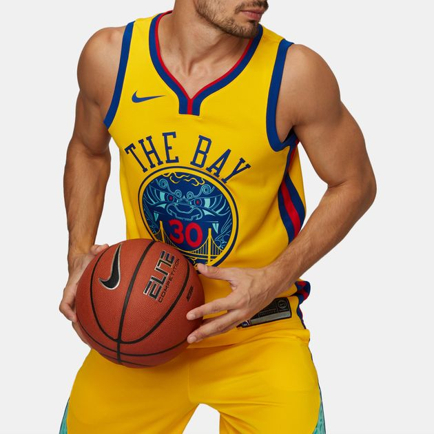 Nike NBA Golden State Warriors Stephen Curry Swingman City Edition Jersey 3144f445e8ee