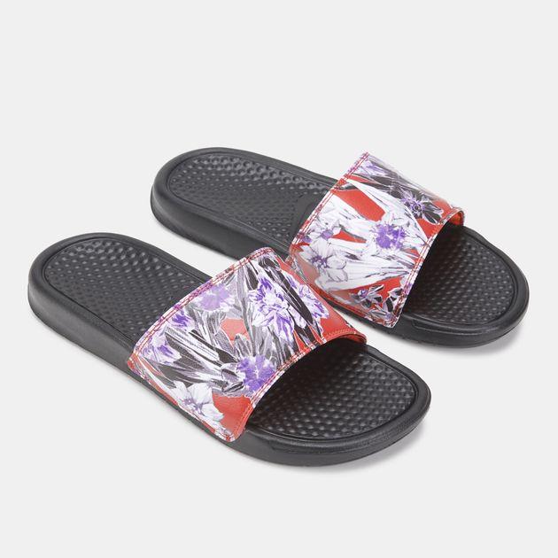 4ff8e2d5c Nike Women's Benassi JDI Print Slides | Slides | Sandals and Flip ...