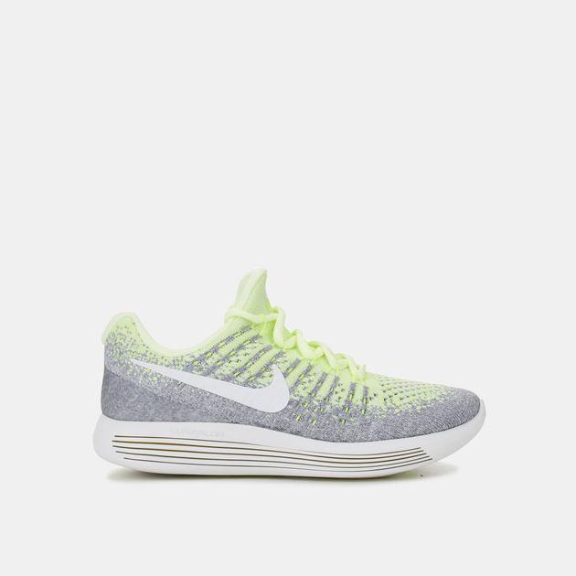 official photos 9cd1a f8646 Shop Yellow Nike Kids' LunarEpic Low Flyknit 2 Running Shoe ...