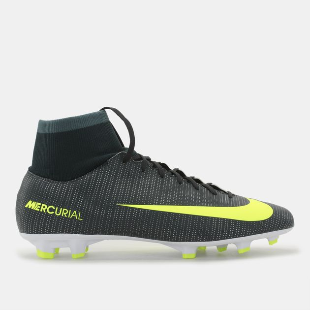 527bf560a Shop Green Nike Mercurial Victory VI CR7 Firm Ground Football Shoe ...