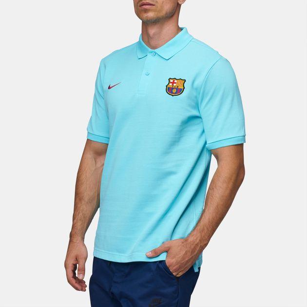 d475388a Shop Nike Sportswear FC Barcelona Polo T-Shirt for Mens by Nike - 1 ...