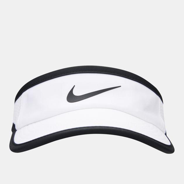 Nike Court AeroBill Tennis Visor - White 8bbed359367