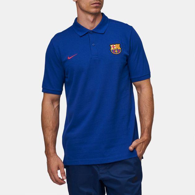 606dd9b0 Shop Nike Sportswear FC Barcelona Polo T-Shirt for Mens by Nike - 2 ...