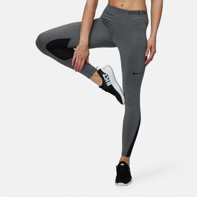 best shoes great fit separation shoes Shop Grey Nike Pro Training Leggings for Womens by Nike | SSS