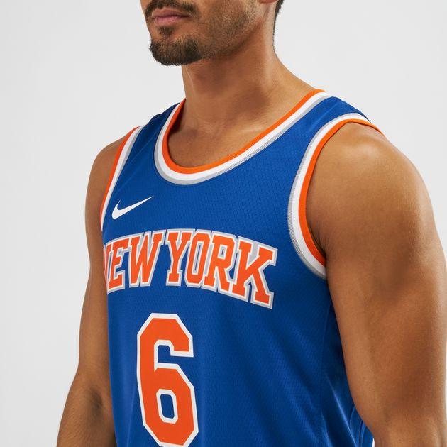 super popular cbe5d 2d0bd Nike NBA New York Knicks Kristaps Porzingis Swingman Jersey