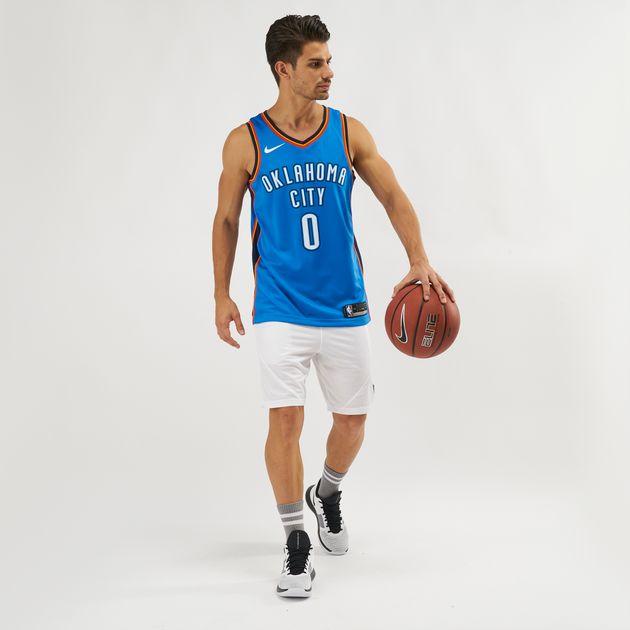 Nike NBA Oklahoma City Thunder Russell Westbrook Icon Edition Swingman  Jersey 6ad202b62