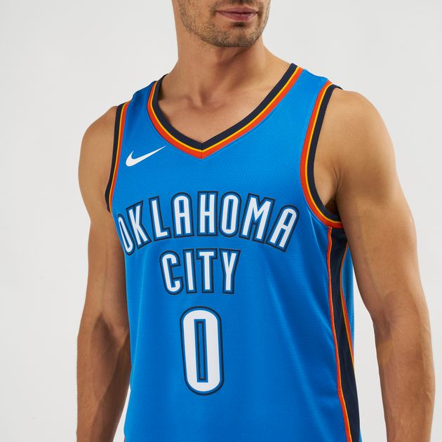 buy popular f4d01 1012c Nike NBA Oklahoma City Thunder Russell Westbrook Icon Edition Swingman  Jersey