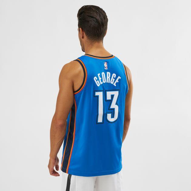 huge selection of d0483 9219b Nike NBA Oklahoma City Paul George Icon Edition Swingman Jersey