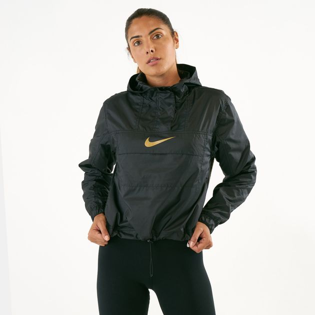 eb77e8ac7c Nike Women s Sportswear Animal Print Lightweight Windbreaker ...