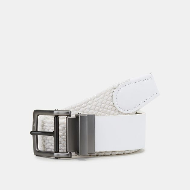 656ea3abdd38c2 Shop White Nike Golf Stretch Woven Belt for Mens by Nike Golf | SSS