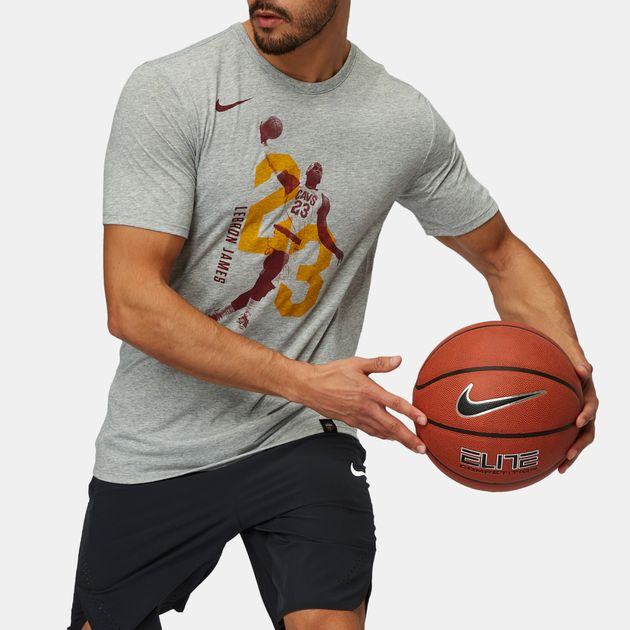 official photos 600f4 e86d9 Nike NBA Cleveland Cavaliers LeBron James Dry Basketball T ...