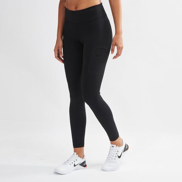 452e868a21dc2 Shop Black Nike Power Hyper Training Leggings for Womens by Nike | SSS