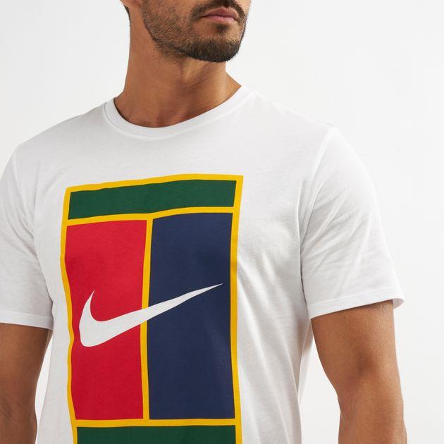 Tops Shirt Heritage Nike Court T Shirts Clothing Logo T5nTYwqI