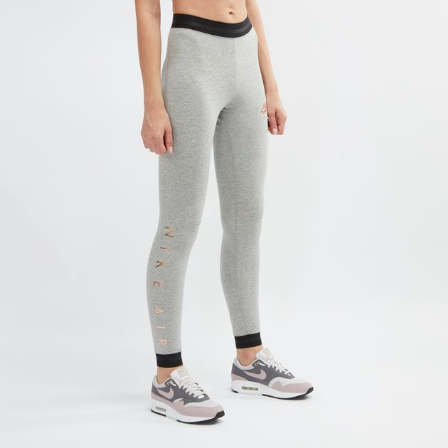 best price more photos new style Grey Nike Sportswear Air Leggings | Full Length Leggings ...