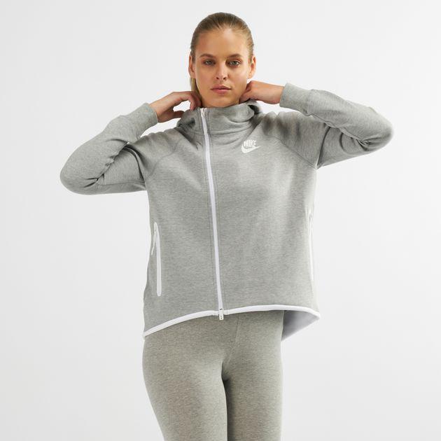 4adc94c9108d Nike Sportswear Tech Fleece Full-Zip Cape Hoodie