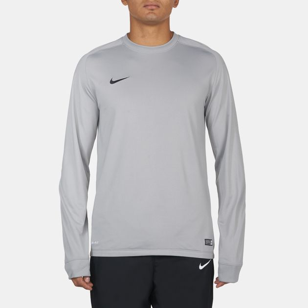 f8608057d9b Shop Grey Nike Park Goalie II Football Jersey for Mens by Nike
