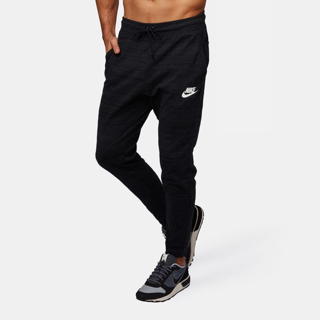 Shop Black Nike Sportswear Advance 15 Knit Pants for Mens by Nike  b38baee53