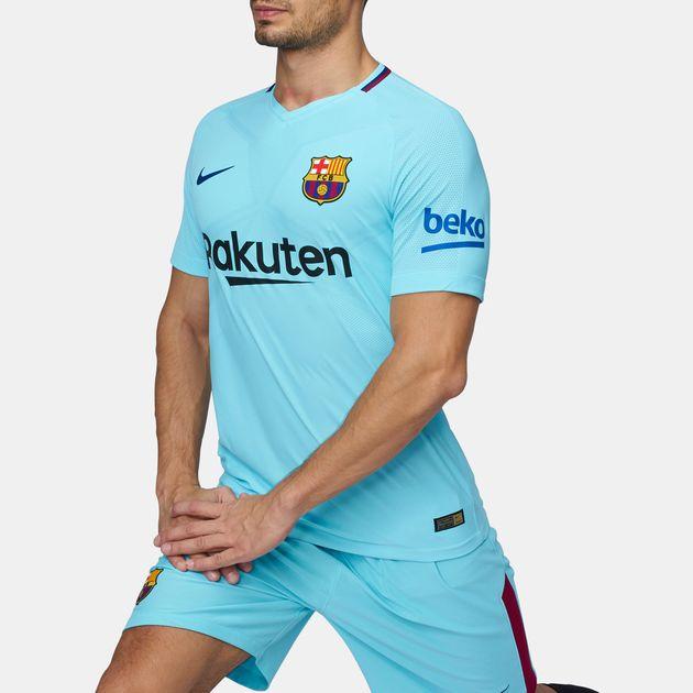 sale retailer 03e93 54743 Shop Blue Nike FC Barcelona Vapor Match Away Football Jersey ...