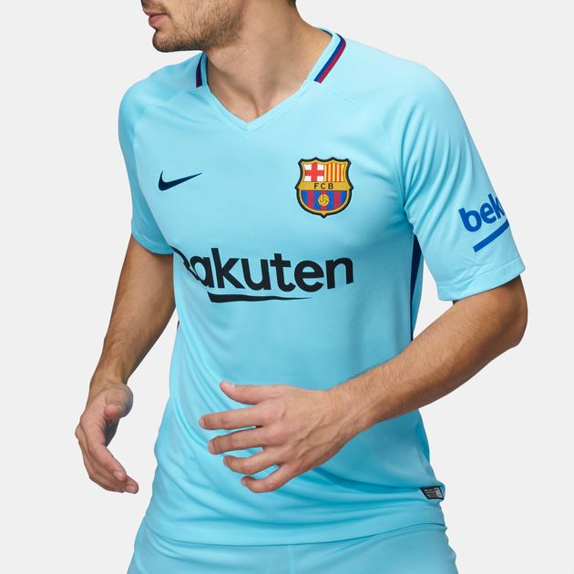 sneakers for cheap d1636 8d7ee Shop Blue Nike FC Barcelona Stadium Away Football Jersey ...
