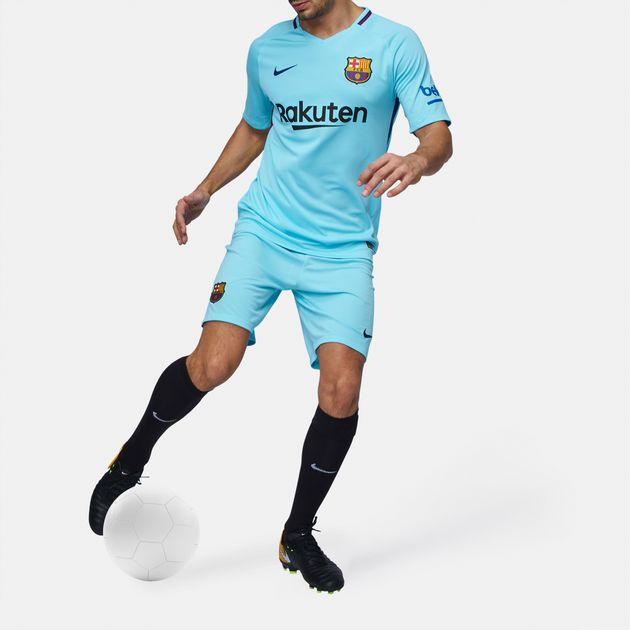 481fae92db27 Shop Blue Nike FC Barcelona Stadium Away Football Jersey – 2017 2018 ...