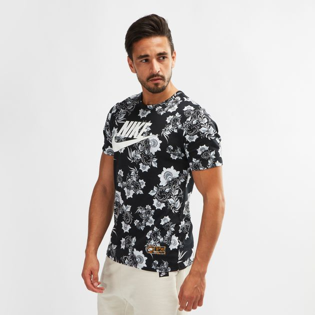 49354f56 Nike Sportswear Floral Concept T-Shirt | T-Shirts | Tops | Clothing ...