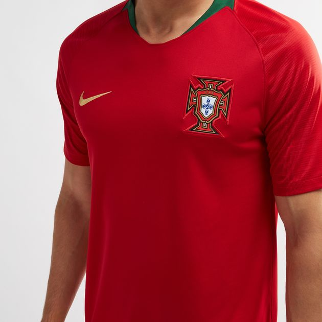 643a92feadbf Shop Red Nike Portugal Home Stadium Football Jersey – 2018 for Mens ...