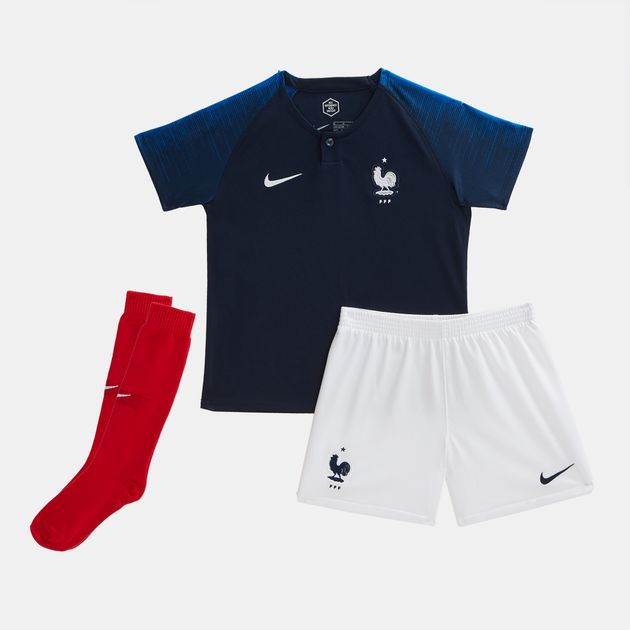 b4c16909b39c Nike Kids  Breathe France Football Home Stadium Kit - 2018 ...