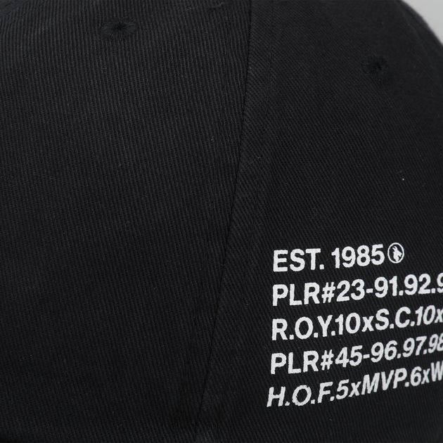bb2474c1963ad Jordan Heritage86 Script Cap - Black
