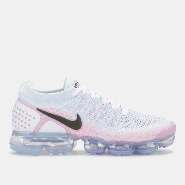 6c5ab7fee37935 Shop White Nike Air VaporMax Flyknit 2 Shoe for Mens by Nike