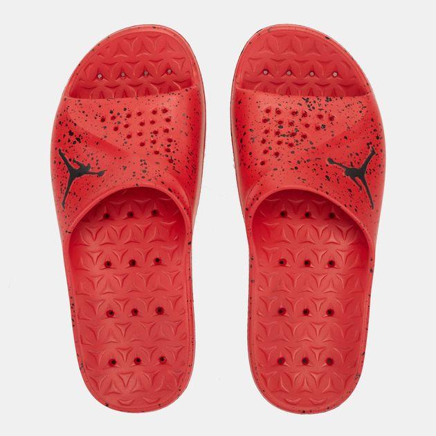 9cbaba41b Shop Red Jordan Super.Fly Team Slide Sandal for Mens by Jordan