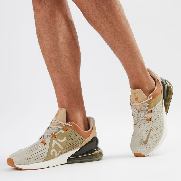 48037f387ccc4 Shop Beige Nike Air Max 270 Premium Shoe | Sneakers | Shoes | Sports ...