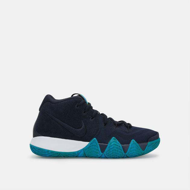 3bb4b9b56597 Shop Blue Nike Kids  Kyrie 4 Basketball Shoe for Kids by Nike