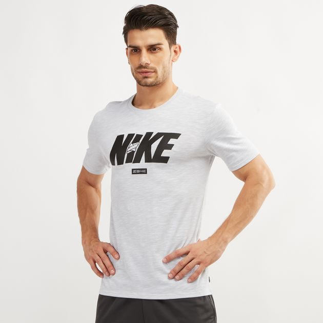 c6e7e2c4bdca5 Nike Dry Jdq Block T Shirt Nkap913338 100 in Dubai, UAE   SSS