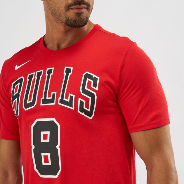 938391f07dd Nike NBA Chicago Bulls Zach LaVine Dri-FIT T-Shirt