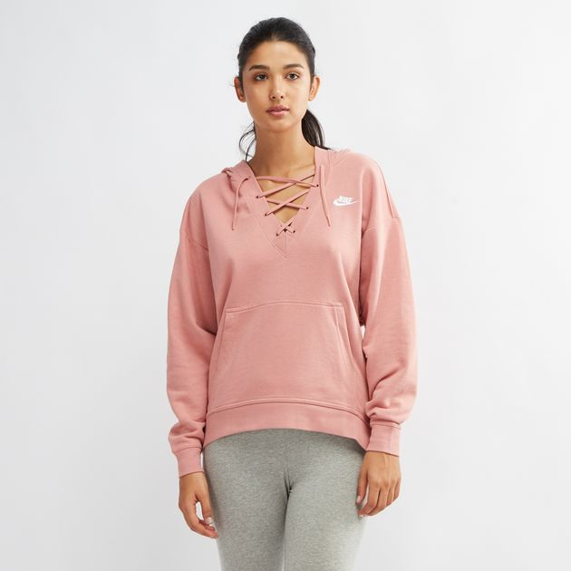 Nike Damen Laceup Hoodie