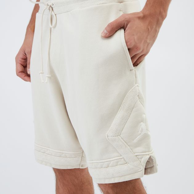 e29bf4c06c4 Shop Beige Jordan Sportswear Diamond Fleece Shorts | Shorts ...