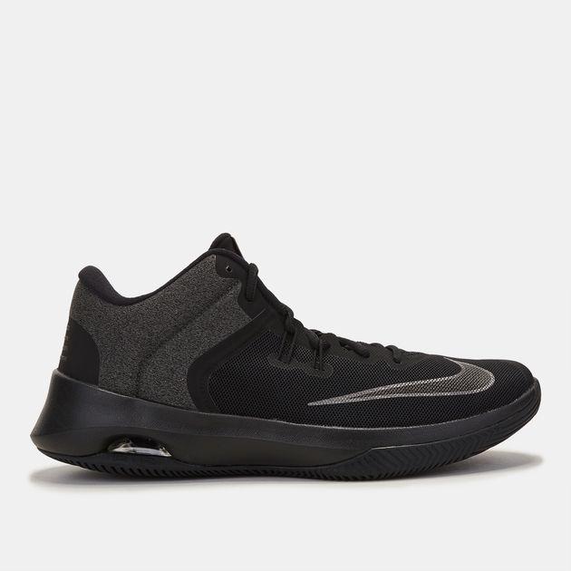 b95074b309bb Shop Black Nike Air Versatile II NBK Basketball Shoe for Mens by ...
